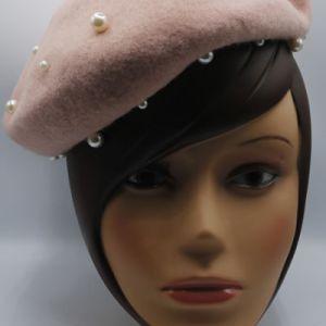 beret laine avec perles e dressing des copines