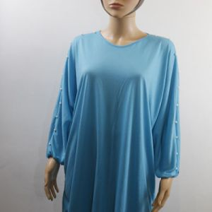 tee-shirt manche longue avec perles