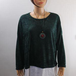 tunique bi matière velours e dressing des copines