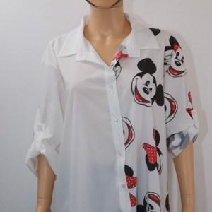 chemise personnage disney e dressing des copines