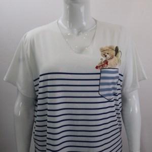 tee-shirt marinière e dressing des copines
