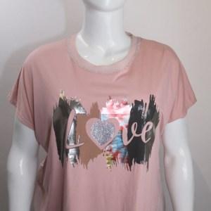 t-shirt imprimé e dressing des copines