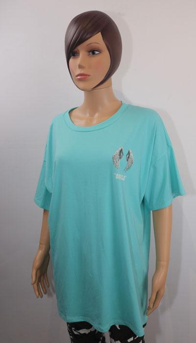t-shirt angels e dressing des copines