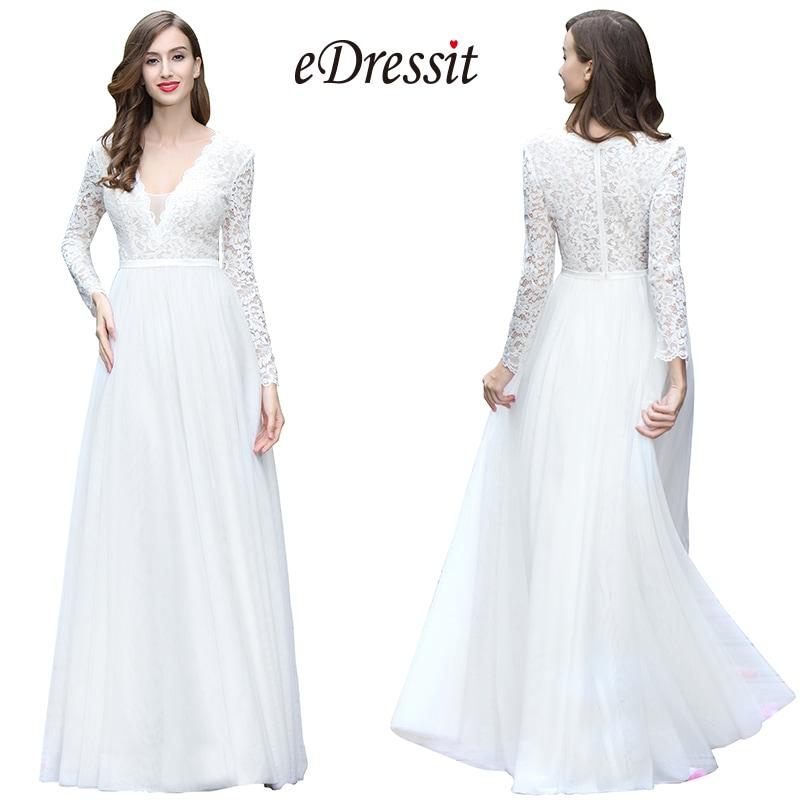 Trend We Love Less Formal Wedding Dresses Edressit