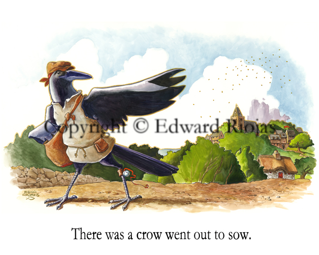 """There was a Crow"""" horizontal"""