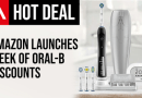 Get An App-Linked Oral-B 6500 Brush For Below £60 In The Amazon Sale