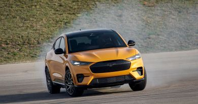 Ford's Mustang Mach-E SUV gets tail-happy, fails Swedish moose test
