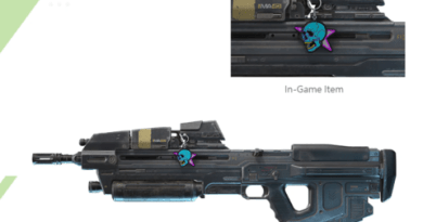 Halo Infinite -- This Is What A Weapon Charm Looks Like