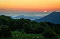 Shenandoah sunrise at Spitler Knoll