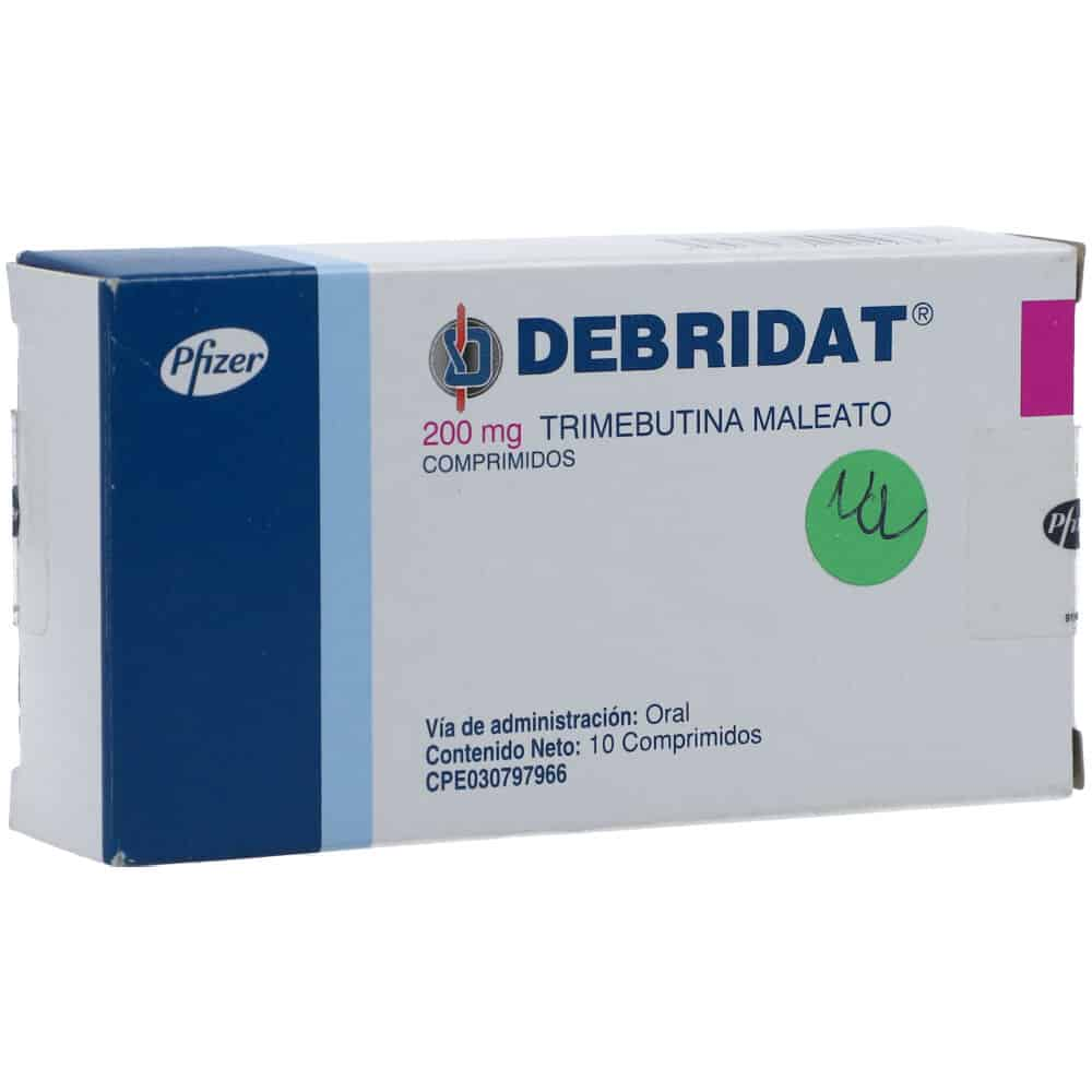 Debridat Trimebutine Uses, Dosage, Side Effects, Precautions