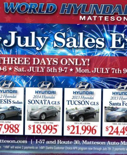 4th of July Subaru Specials