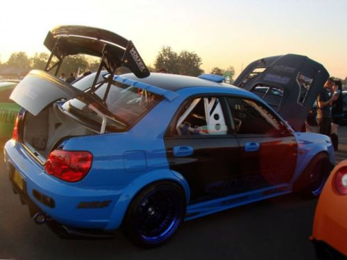 2002 Subaru WRX for Sale rearview