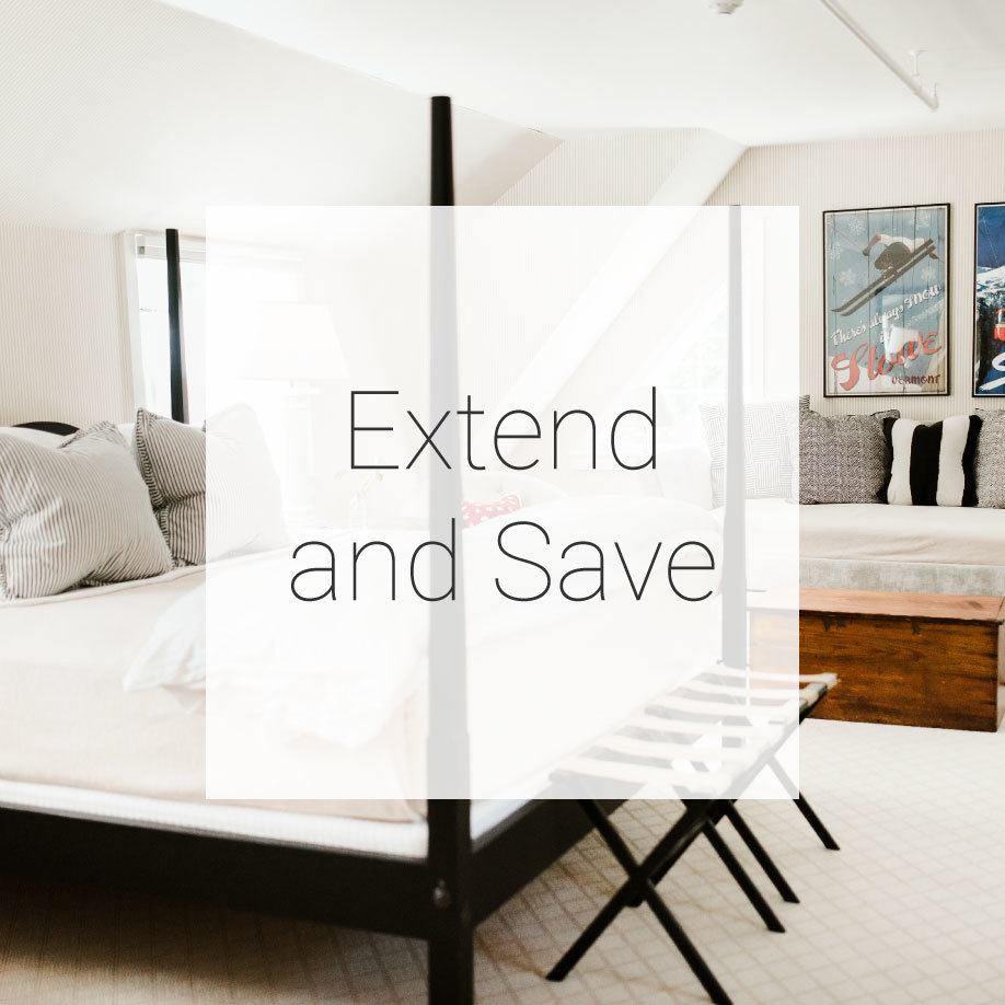 Extend and Save Promotion