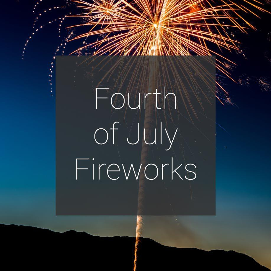 Fourth of July Fireworks Promotion