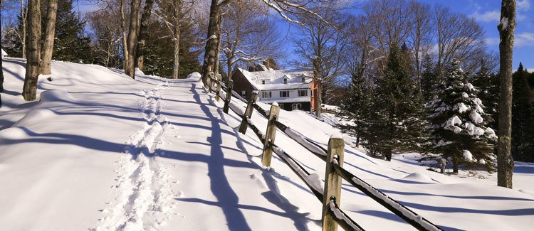 3 Favorite Cross Country Ski Trails in Stowe Vermont