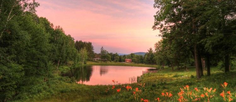 Spring in Stowe Vermont Hidden Treasure