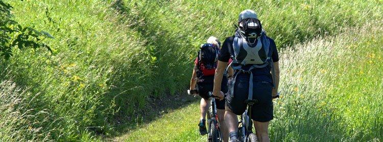 Mountain Bike in Vermont