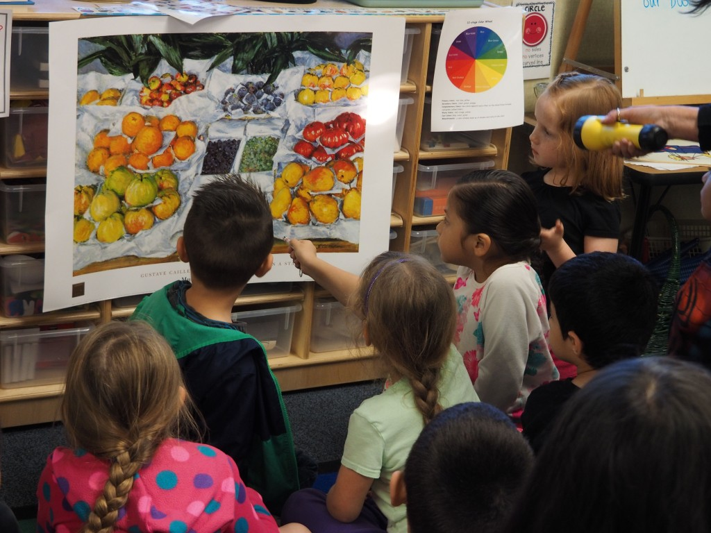 Art Appreciation Helps Young Children Learn To Think And Express Ideas
