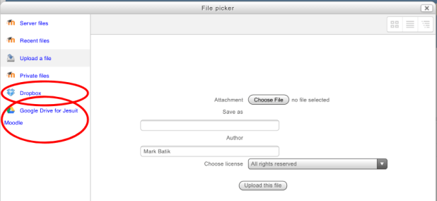 File Picker Select Cloud Storage Image