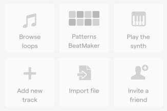 Soundtrap Options