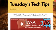 Tuesday's Tech Tips