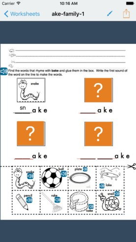 Go Worksheet EdTechChris.com Useful Accessibility iOS Apps