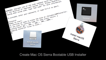 Mac OS Sierra bootable installer Apple MacBook EdTechChris.com