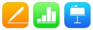 iWork Pages Keynote Numbers updates