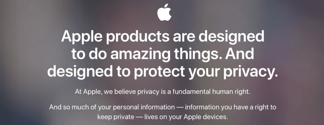 Apple privacy macOS Tim Cook trustdtech edtechchris 9 security features