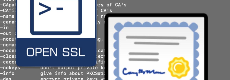 Convert .pfx .pem OpenSSL macOS
