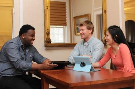 CREDIT Regis College students at Regis