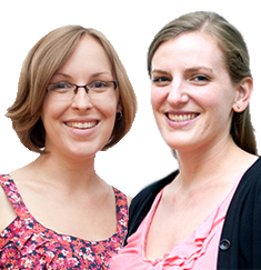 Information Literacy Librarians, Emily Gover and Caity Selleck