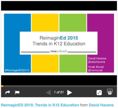 CREDIT ReImaginED2015 David Hanes