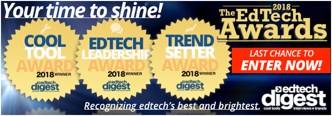 2018 EdTech Awards last chance to enter