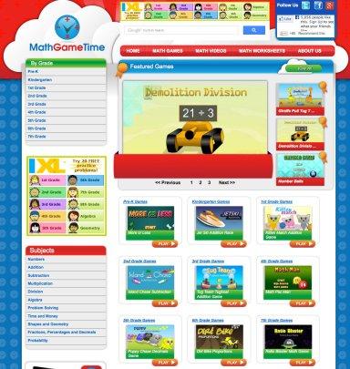 Math Game Time Screenshot