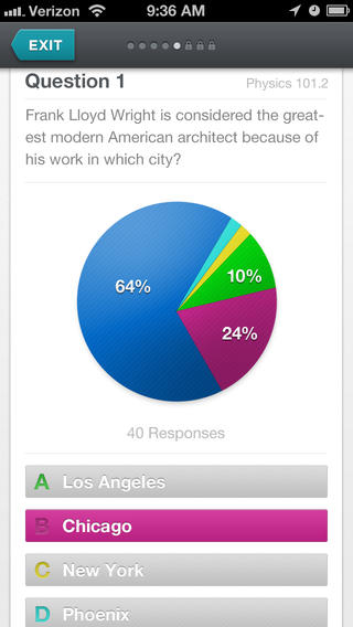 Polls by Blackboard