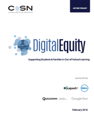 CoSN Digital Equity Toolkit
