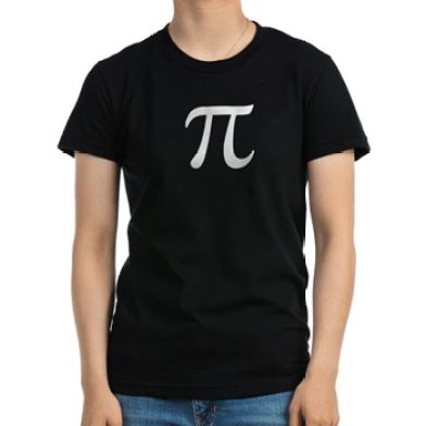 CREDIT piday.org t-shirt