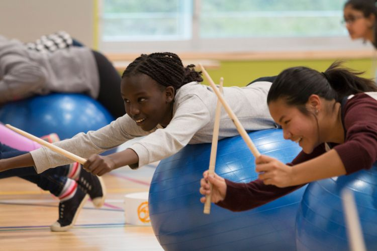 Improving student mental health with DrumFIT