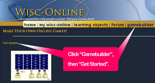 Getting Started with GameBuilder