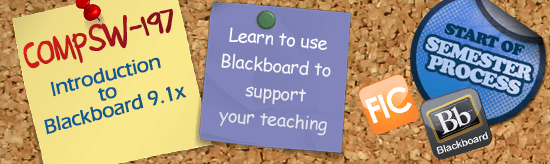 COMPSW-197 Intro to Blackboard Banner
