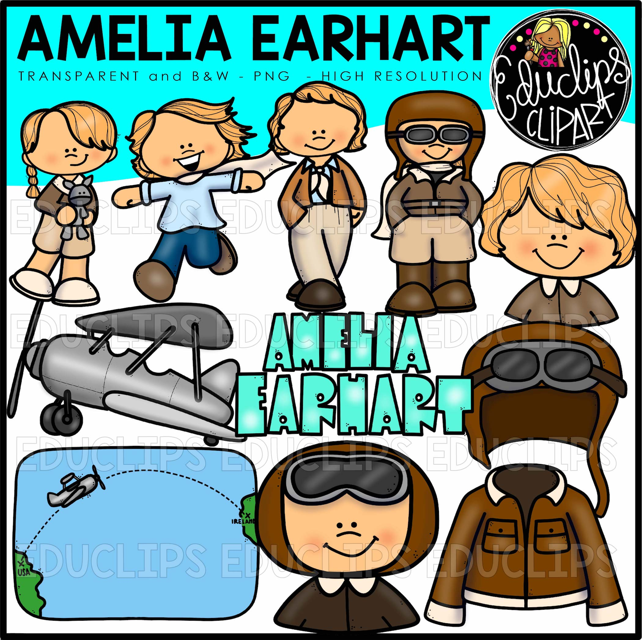 Color Pictures Of Amelia Earhart