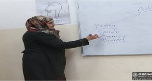 قسم اللغة الانكليزية في كلية التربية للبنات ينظم حلقة نقاشية بعنوان : Abstract and Concrete Nouns In English