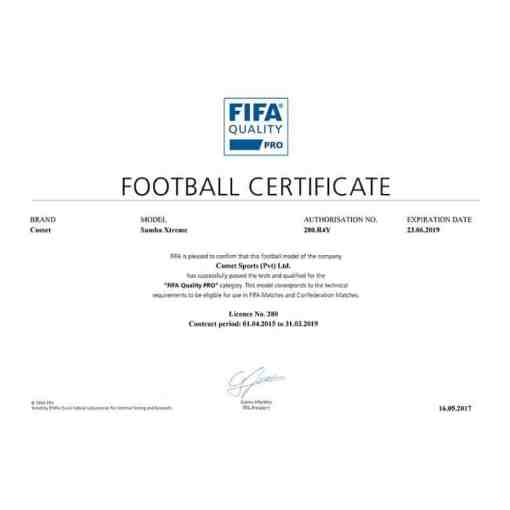 minge fotbal samba xtreme nr 5 fifa pro
