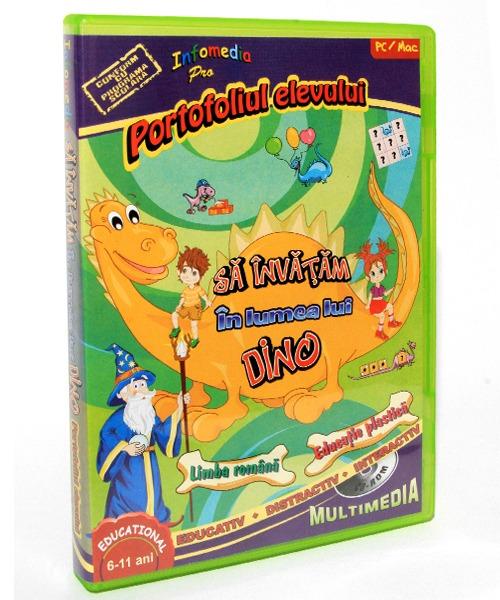 02 Sa invatam in Lumea lui Dino 22 partea a II a Lb Romana si Educatie Plastica 02