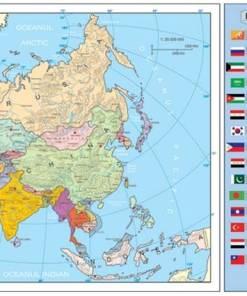 Asia harta politica