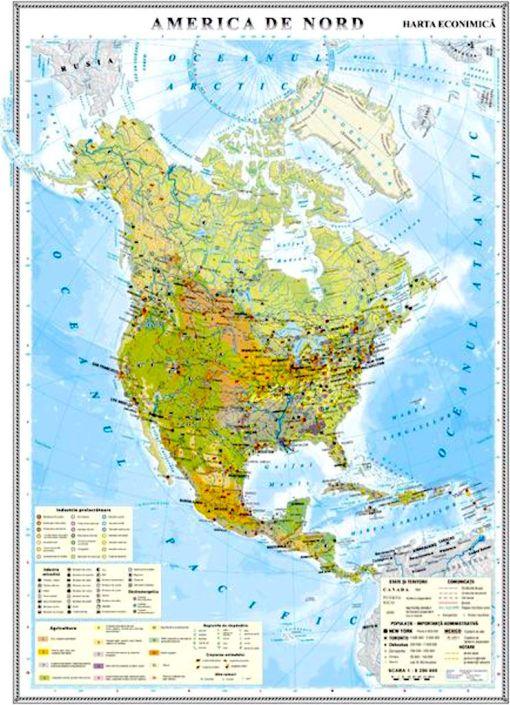 GHC10E harta america de nord economica