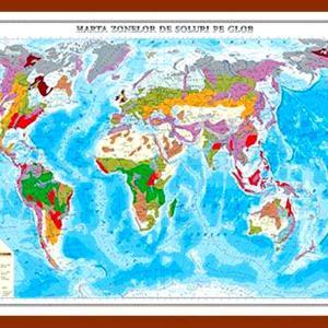 GHL8 harta zonelor de soluri pe glob