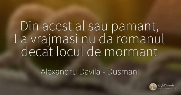 Alexandru Davila, Citat