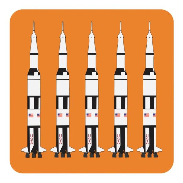 Robert William A5 Saturn V Rocket Notebook